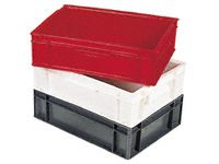 10 Litre Euro Stacking Container - Solid Sides