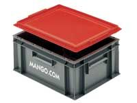15 Litre Euro Container - Solid Sides