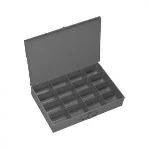 Durham mfg 16 Compartment Small Parts Storage Box - Large