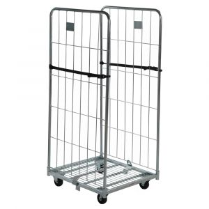 2 sided demountable roll cage container 1520mm high