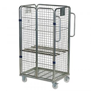 Four Sided Merchandise Picking Trolley