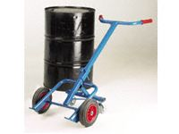210 litre Steel Drum Carrying Truck with 4 wheels