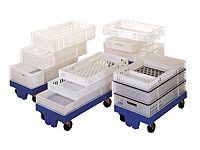 22 Litre Ventilated Food Grade Polypropylene Food Tray
