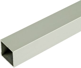 25mm square tube, speedframe plain aluminium