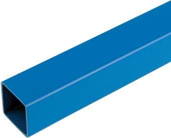25mm square tube,speedframe plain blue steel