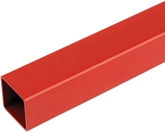 25mm square tube,speedframe plain red steel