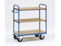 Fetra 3-shelf H/D Shelf Trolley 1000x700mm L x W