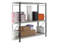 3 Shelf Longspan Extension Bays - 2100mm Wide, Chipboard Decks