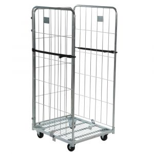 3 sided demountable roll cage container 1700mm high