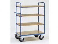 Fetra 4-shelf H/D Shelf Trolley 1000x700x1500 LxWxH