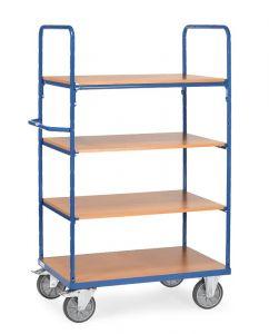 Fetra 4-shelf H/D Shelf Trolley 1000x700x1800 LxWxH