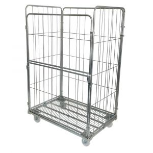 4-sided Jumbo demountable roll cage container 500kg cap