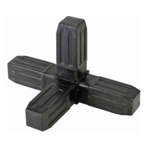4 way angle joint 25mm square tube connector