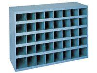 Durham mfg 40 Compartment Heavy Duty Steel Small Parts Bin Unit