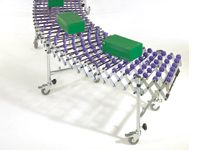 400mm x 9.5m Expanding Skatewheel Conveyor