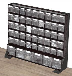 497mm H Bott Bench Storage Rack c/w Storage Compartments
