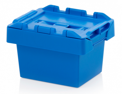 6 ltr Attached Lid Distribution Container