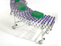 600mm x 8.0m Expanding Skatewheel Conveyor