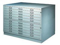 A0 5-drawer Steel Planchest