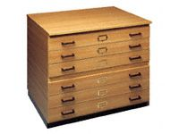 A0 Wooden Planchest 6 Drawers