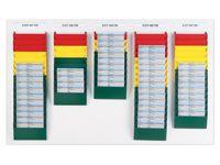 A5 Landscape Display Racks 10 Pockets - Various Colours