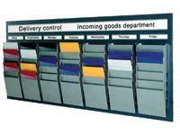 A5 Portrait Document Display Racks 16 Pockets - Various Colours