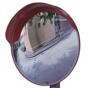 External Traffic convex polycarbonate mirror, 450mm dia