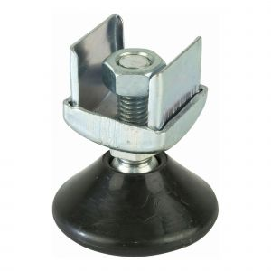 Adjustable Foot 25mm square tube system