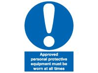 Approved Personal Safety Signs - 400 x 300mm
