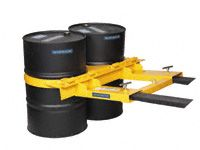 Automatic double Drum Clamp 680kg capacity
