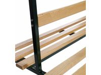 Backrests for DS-DSX-DSM Double Sided Cloakroom Benches