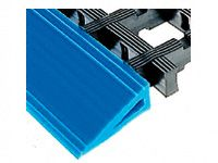 Bevelled edging for Standard weave PVC matting