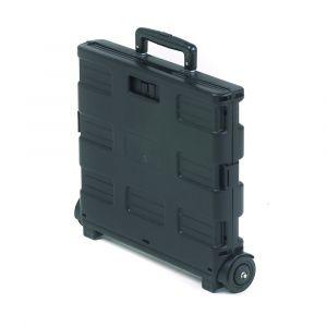 Black Folding Box Trollies - 35kg Capacity