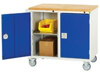 Bott Mobile storage cabinet with 30mm mpx worktop