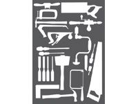 Bott Self adhesive tool shapes - Woodworking Tools