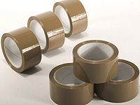Brown Packaging / Parcel Self Adhesive Tapes (3)