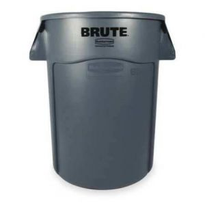 Brute collection bin with lid 166.5 Litres