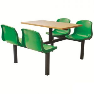 Canteen Easy Clean Fast Food Unit - 2 seater