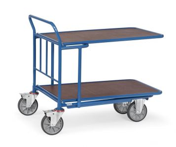 Fetra Cash and Carry Trolley double deck 1000x700mm LxW