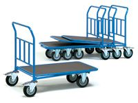 Fetra Cash and Carry Trolley single deck 850x500mm L xW