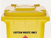 Character Stamping for 2 Wheeled Bins - Qty Option