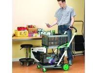Clever Folding Trolley with Box