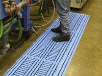 Corner and Edge for Work Deck Poylethylene Floor Tiles