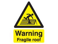 Danger Fragile Roof Safety Signs