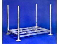 Demountable post pallet, base 1400Wx1030Dx300H