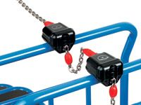 Fetra Deposit locks for cash and carry trolleys