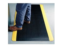 Diamond Plate 415 matting (blk/ylw) 910x1520mm