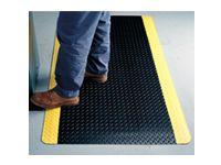 Diamond Plate 415 matting (blk/ylw) 910x1520mm