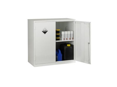 Double Door 1 Shelf Acid Storage Cabinet (1)
