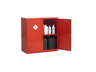 Double Door 1 Shelf Pesticide Storage Cabinet (1)
